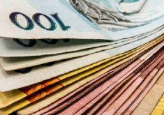 Cédulas real dinheiro