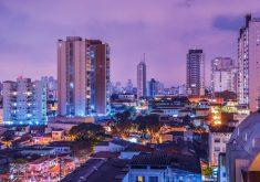 Centro urbano brasileiro