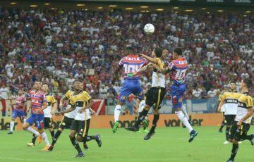 Fortaleza ganha jogo dentro de casa contra Criciúma