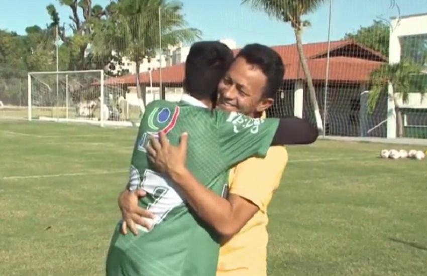 Pai luta por sonho do filho em se tornar jogador de futebol