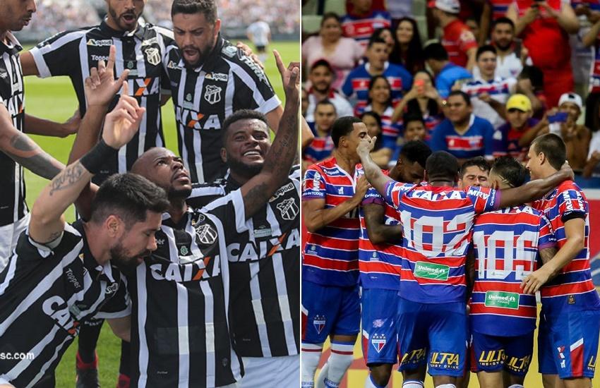 Após 26 anos, Ceará e Fortaleza voltarão a se enfrentar na primeira divisão; relembre os confrontos