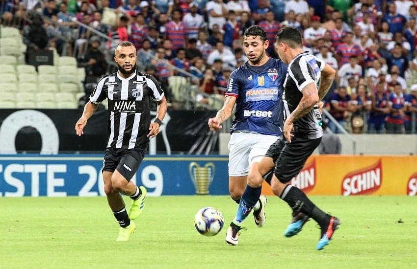 Ceará e Fortaleza empatam em 1 a 1 no Clássico-Rei válido pela Copa do Nordeste