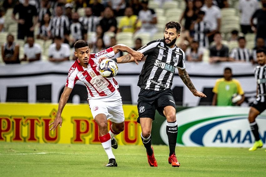 Ceará sofreu dois gols do Náutico e está fora da Copa do Nordeste. (Foto: Stephan Eilert/cearasc.com)