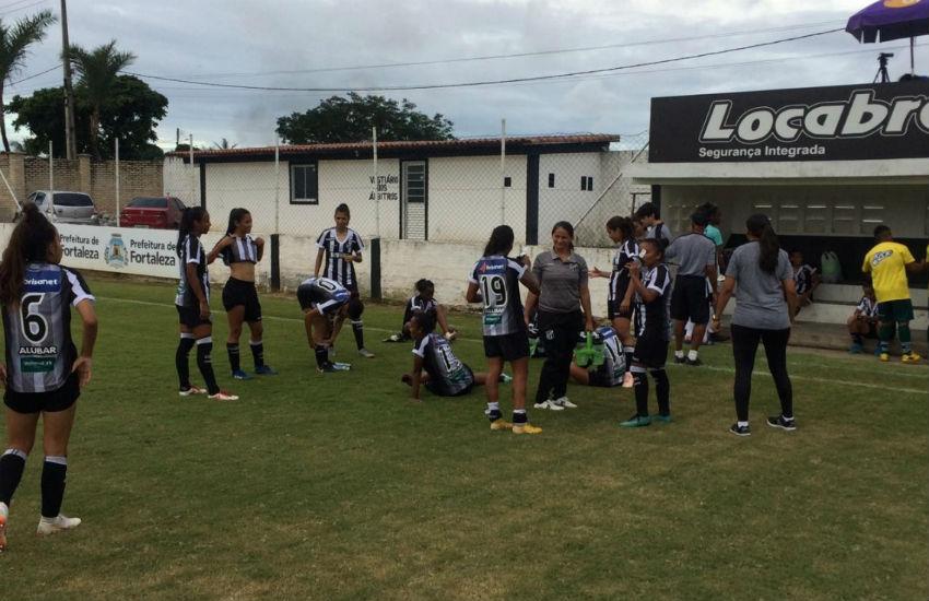 Ceará goleia na estreia do Campeonato Brasileiro Feminino Série A2