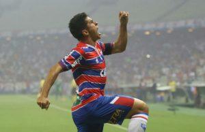 Osvaldo é uma das esperanças de gol do Fortaleza (FOTO: Pedro Chaves/FCF)