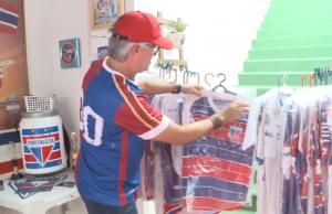 Torcedor possui inúmeros itens do Fortaleza (FOTO: Reprodução TV Jangadeiro)