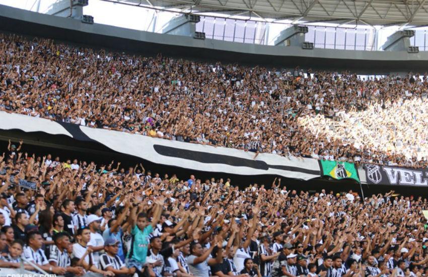 Ceará faz promoção de ingressos para jogo das quartas de final da Copa do Nordeste
