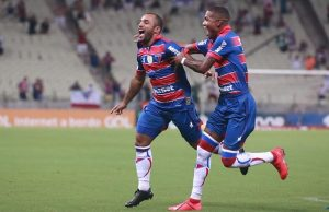 Edinho marcou um dos gols do Fortaleza no Brasileirão (FOTO: Xandy Rodrigues)