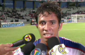 Assisinho marcou o gol da classificação do Fortaleza (FOTO: Reprodução TV Jangadeiro)