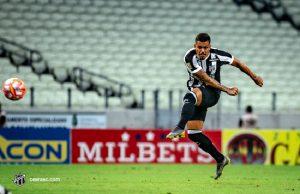 Carleto já marcou dois gols com a camisa do Ceará (FOTO: Stephan Eilert /cearasc.com)
