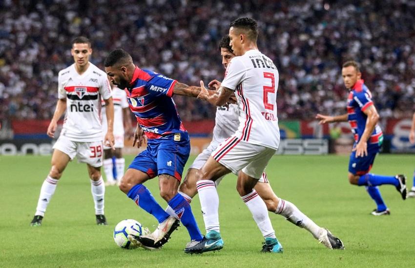 Fortaleza sofreu terceira derrota em quatro jogos. (Foto: Xandy Rodrigues)