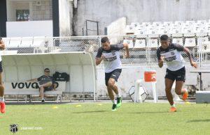 Enderson Moreira deve fazer mudanças no time titular. (Foto: Bruno Aragão/cearasc.com)