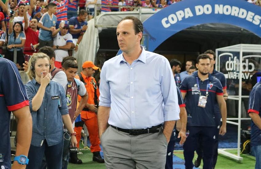 """""""O resultado não condiz com que o time apresentou"""", diz Ceni após vitória de 1 a 0"""