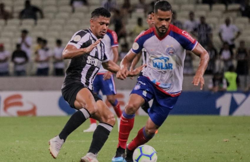 Ceará empata sem gols com Bahia na Arena Castelão