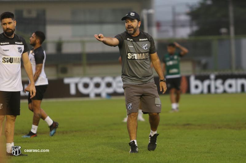 Enderson comandou o Bahia antes do Ceará (FOTO: Felipe Santos/cearasc.com)
