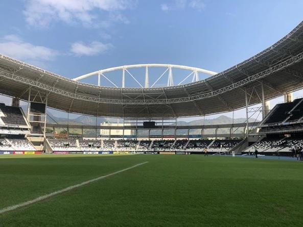 A partida aconteceu no estádio Nilton Santos (FOTO: Instagram/Flamengo)