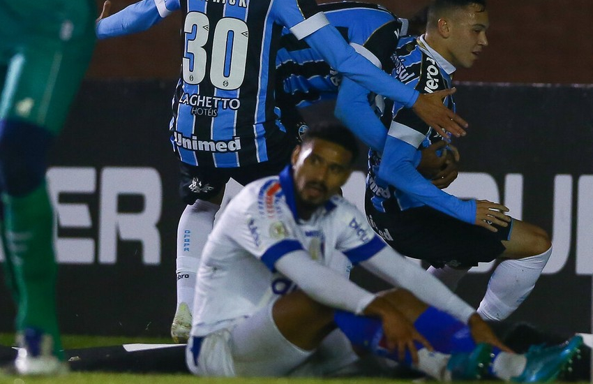 Fortaleza perde para o Grêmio fora de casa pela Série A