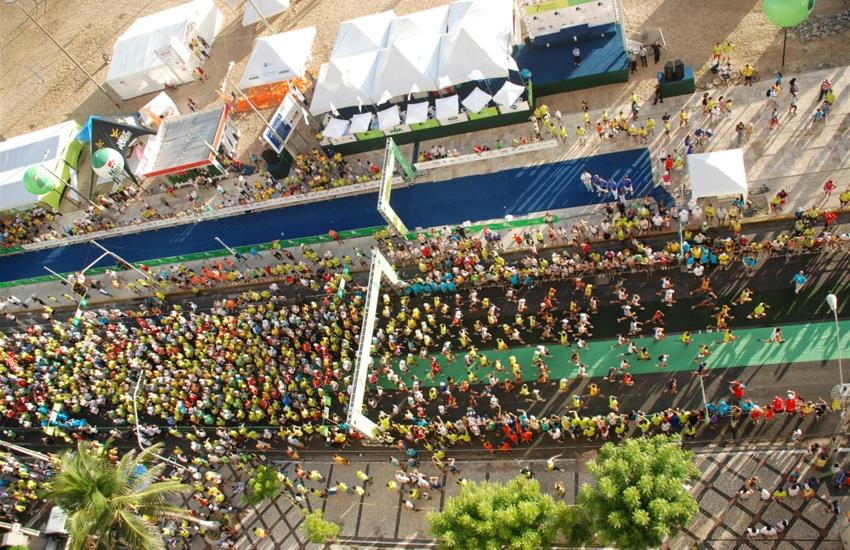 Corredores terão de percorrer 42.195 metros (FOTO: Divulgação/Fernando Braga)