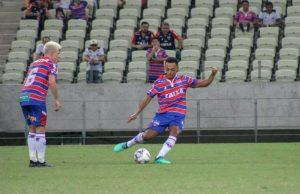 Dodô fez 56 jogos com a camisa tricolor e fez 5 gols. (FOTO: Leonardo Moreira/Fortaleza EC)
