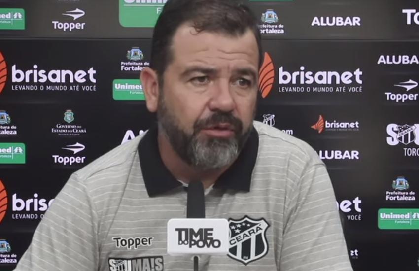 Técnico do Ceará Enderson Moreira avalia como positiva parada para a Copa América