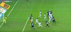 O gol do Fluminense foi marcado pelo atacante Pedro. (FOTO: Reprodução)