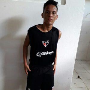 Ruan Kaique tem 15 anos e é atleta da base do Ferrão. (FOTO: Reprodução/Instagram)