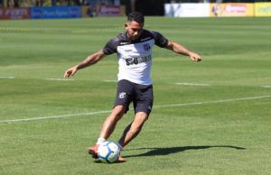 Leandro Carvalho deve ser a novidade para a partida. (FOTO: Bruno Aragão/cearasc.com)