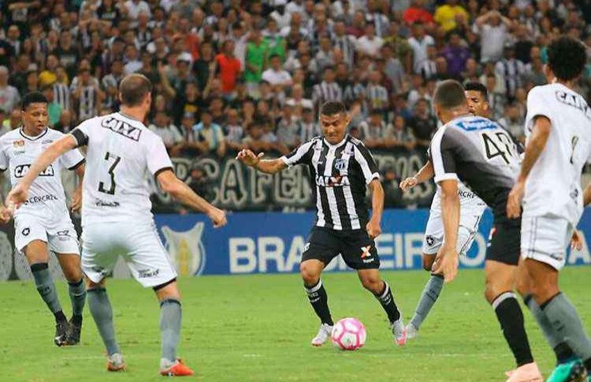 Ceará e Botafogo mantêm equilíbrio em últimos confrontos pelo Brasileiro
