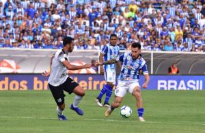 A equipe alagoana venceu por 1 a 0. (FOTO: Francisco Cedrim/RCortez/CSA)