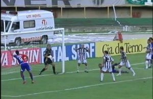 O Ceará acabou derrotado pelo placar de 1 a 0. (Foto: Reprodução)
