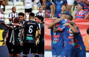 Ceará e Fortaleza conseguem fazer boa campanha no primeiro turno. (Fotos: Stephan Eilert /cearasc.com | Leonardo Moreira /FortalezaEC)