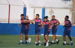 Fortaleza pode ter desfalques para a partida. (Foto: Bruno Oliveira/FortalezaEC)