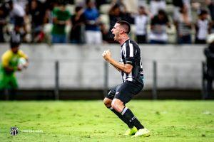 Galhardo foi o autor do gol alvinegro. (FOTO: Stephan Eilert /cearasc.com)
