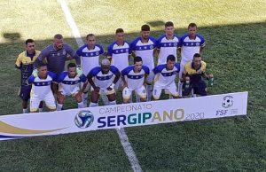 O Frei Paulistano ocupa a 4° colocação do Campeonato Sergipano. (Foto: Divulgação/Frei Paulistano)
