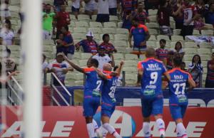 O gol da partida foi marcado por Tinga (FOTO: Thais Pontes / Fortaleza EC)