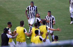 Ceará venceu o Bahia com gols de Fernando Sobral, Cléber e Mateus Gonçalves. (Foto: Felipe Santos/Ceará SC)