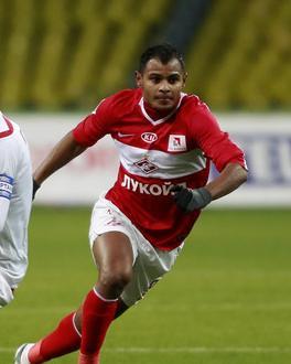 Desde 2010, Ari defende o Spartak de Moscou da Rússia
