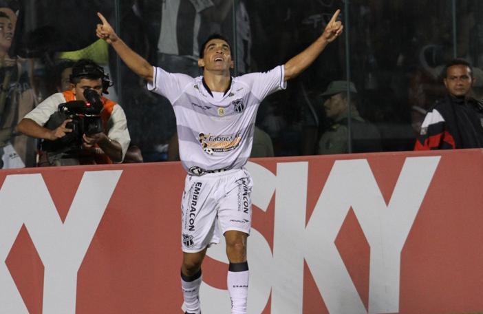 Lateral Márcio Careca marcou dois gols pelo Ceará na Série B 2012