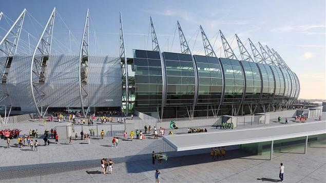 Arena Castelão recebe jogos de Brasil e Espanha na Copa das Confederações 2013