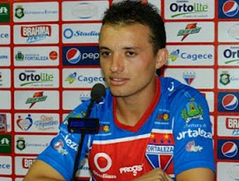 Ray deixa o Fortaleza após 10 jogos e dois gols marcados Foto: Divulgação/ Fortaleza