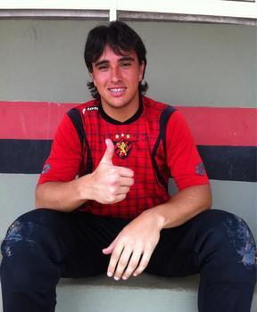 Eduardo fez testes no Sport Foto: Sérgio Ishigami/DP/D.A Press