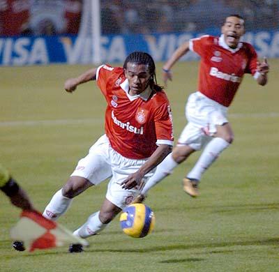 Pinga defendeu o Inter em 2007 Foto: Divulgação/Internacional