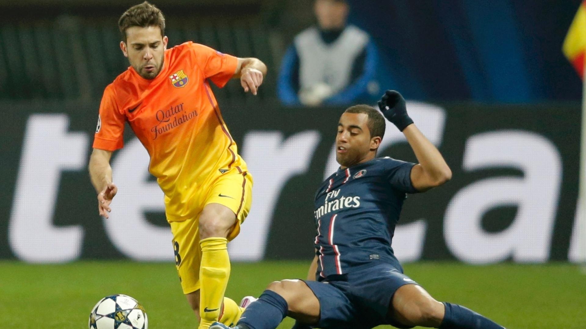 Barcelona e PSG empataram em 2 a 2 no jogo de ida