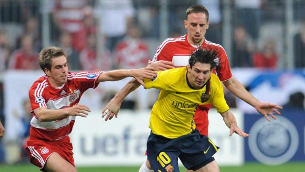 Barcelona e Bayern voltam a se encontrar pela Liga dos Campeões