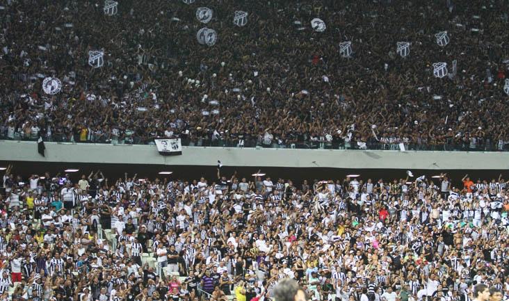 Torcedor do Ceará já pode adquirir ingressos para a partida contra o a Chapecoense
