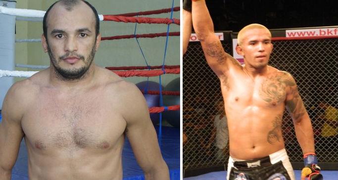 Paulo Guerreiro e Willamy Chiquerim lutam no dia 8 de novembro