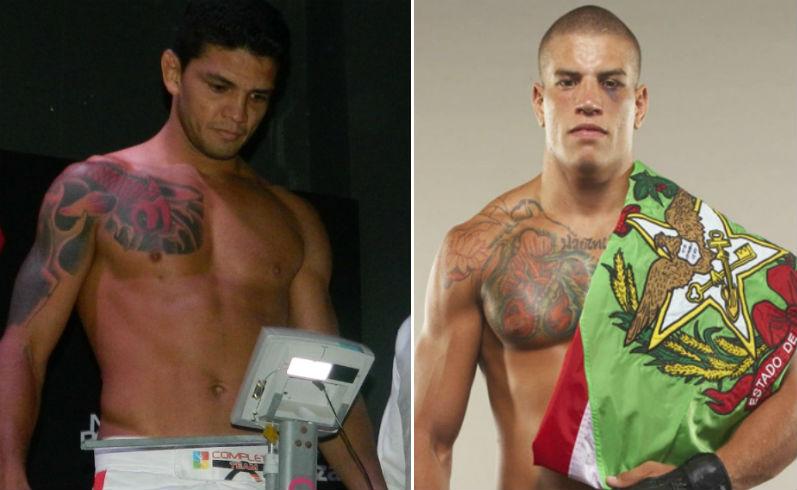 Carlos Índio e Leonardo Macarrão disputam o cinturão da categoria Meio-Médio