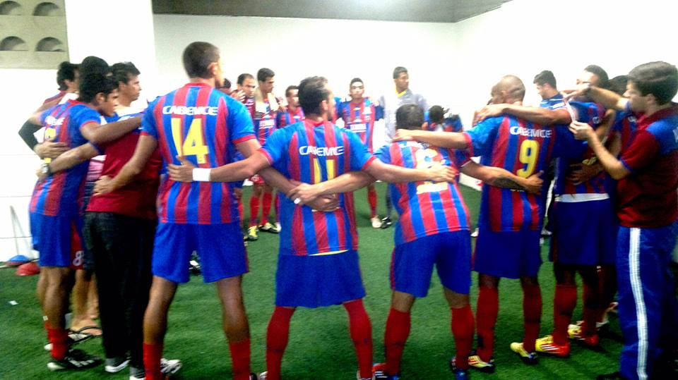 Tiradentes está a dois pontos da Série C 2014