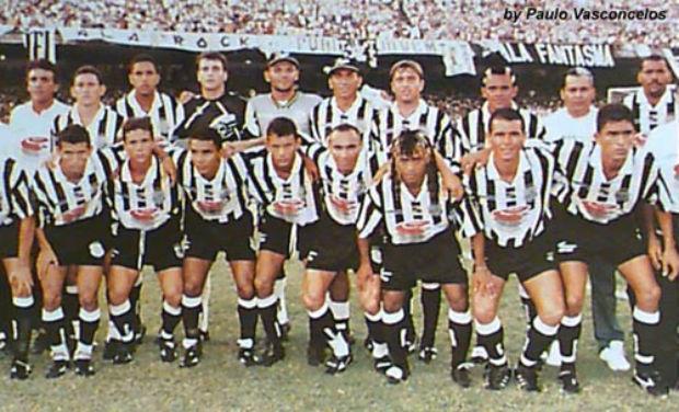 Time do Ceará campeão Estadual de 1997