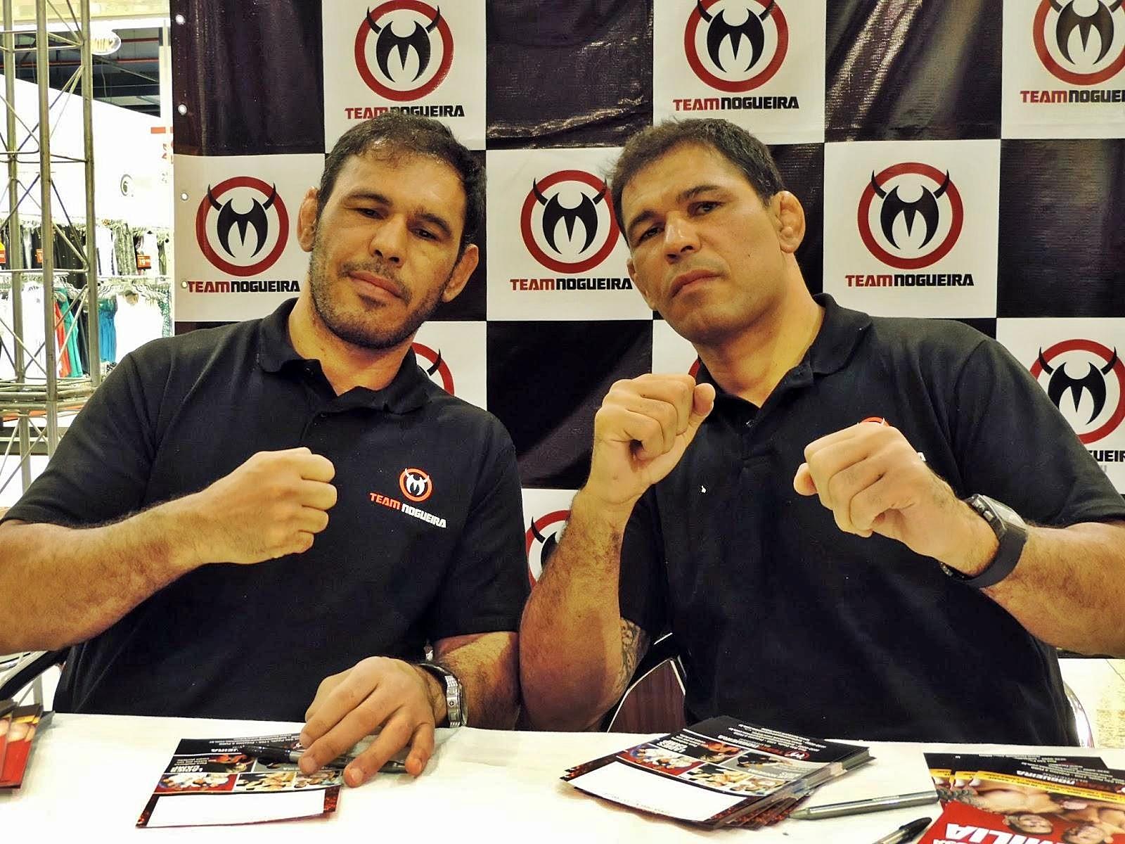 Rogério Minotouro e Rodrigo Minotauro